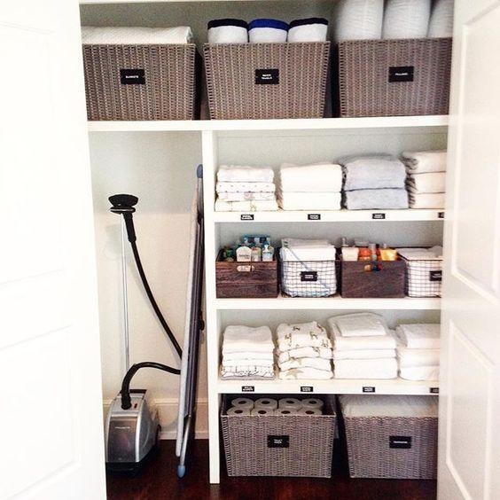 How To Organize Your Linen Closet Inspired Home 9