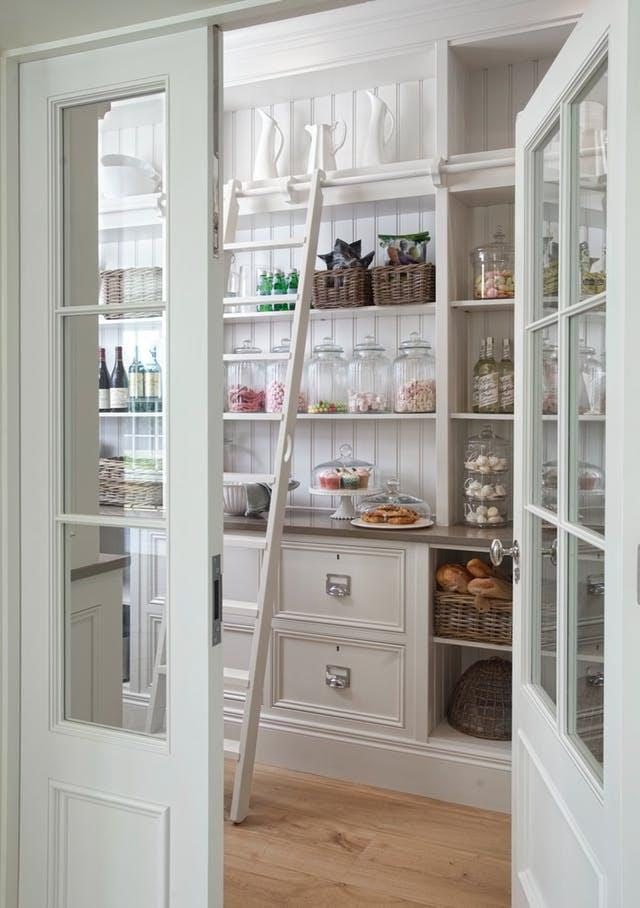 How To Organize Your Pantry Ladder Inspired Home