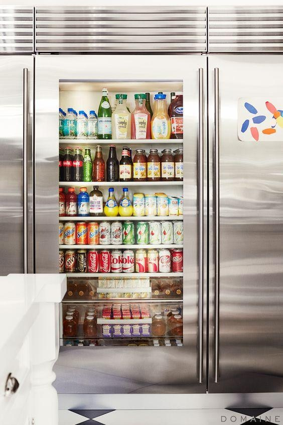 How To Organize Your Refrigerator Drinks Inspired Home
