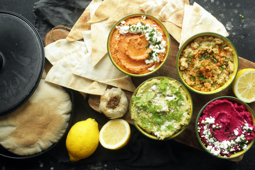 Hummus Recipes 4 Ways: Avocado, Beet, Original & Roasted Red Pepper