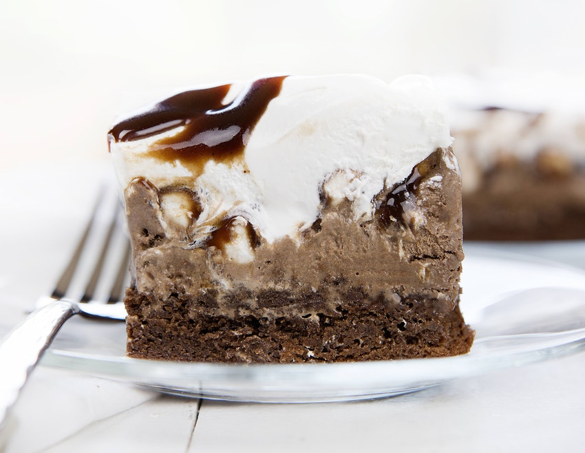This Rocky Road Brownie Ice Cream Cake Is Seriously Good