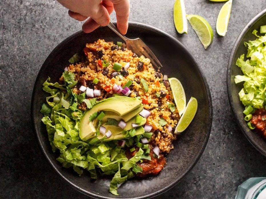 Instant Pot Vegan Burrito Bowls