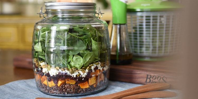 Lifting the Lid on Jar Salads for Every Occasion