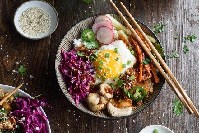 Rice Bowls 5 Ways