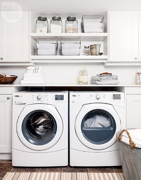 Laundry Room Small Space Inspired Home