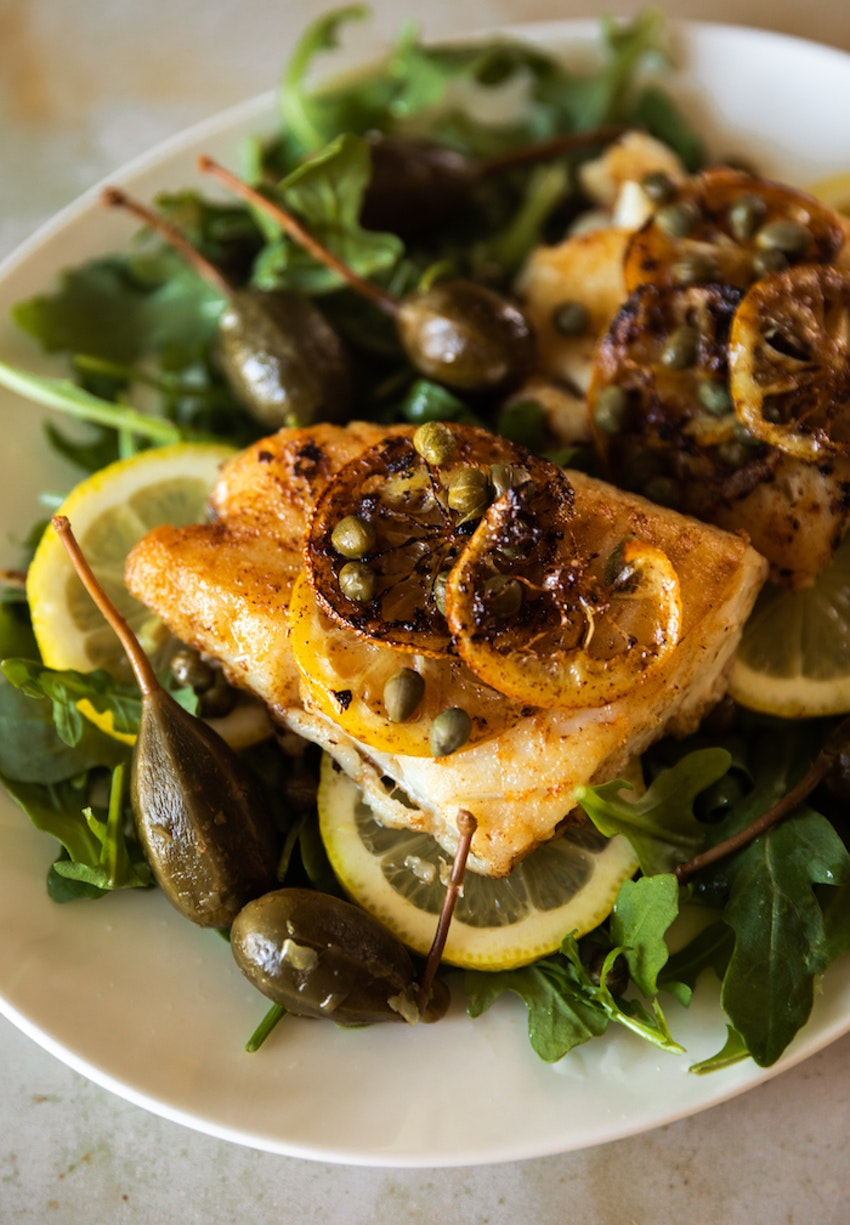 Skillet Lemon & Capers Cod