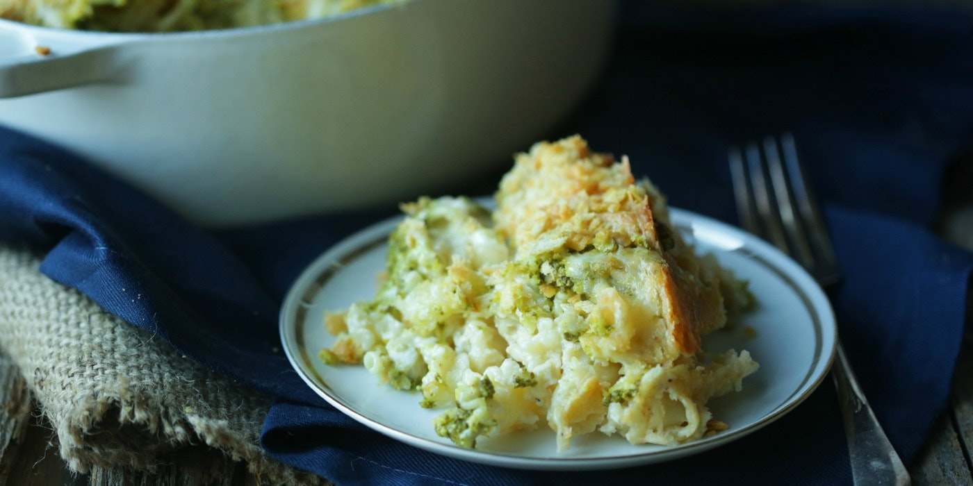 Roasted Chicken & Pesto Mac 'n Cheese