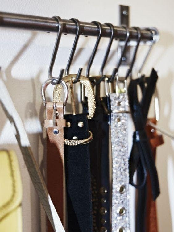 Organize Belts
