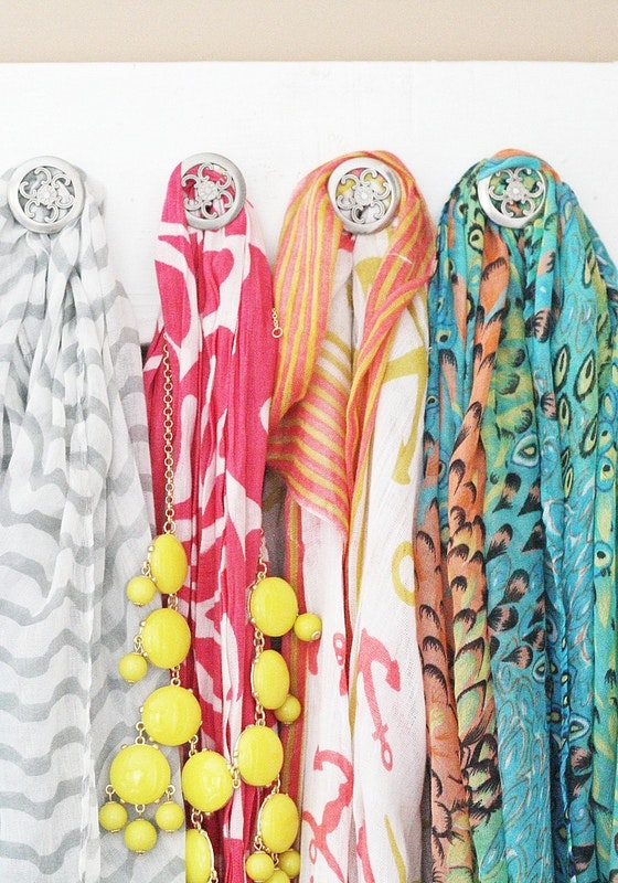 Organize Scarves Accessories