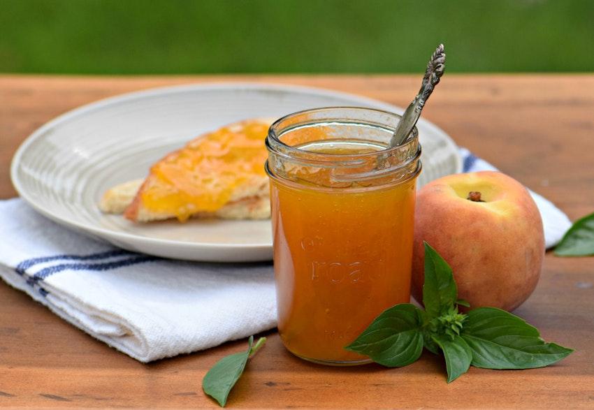 How to Make Jam, Like This Peach Basil Recipe