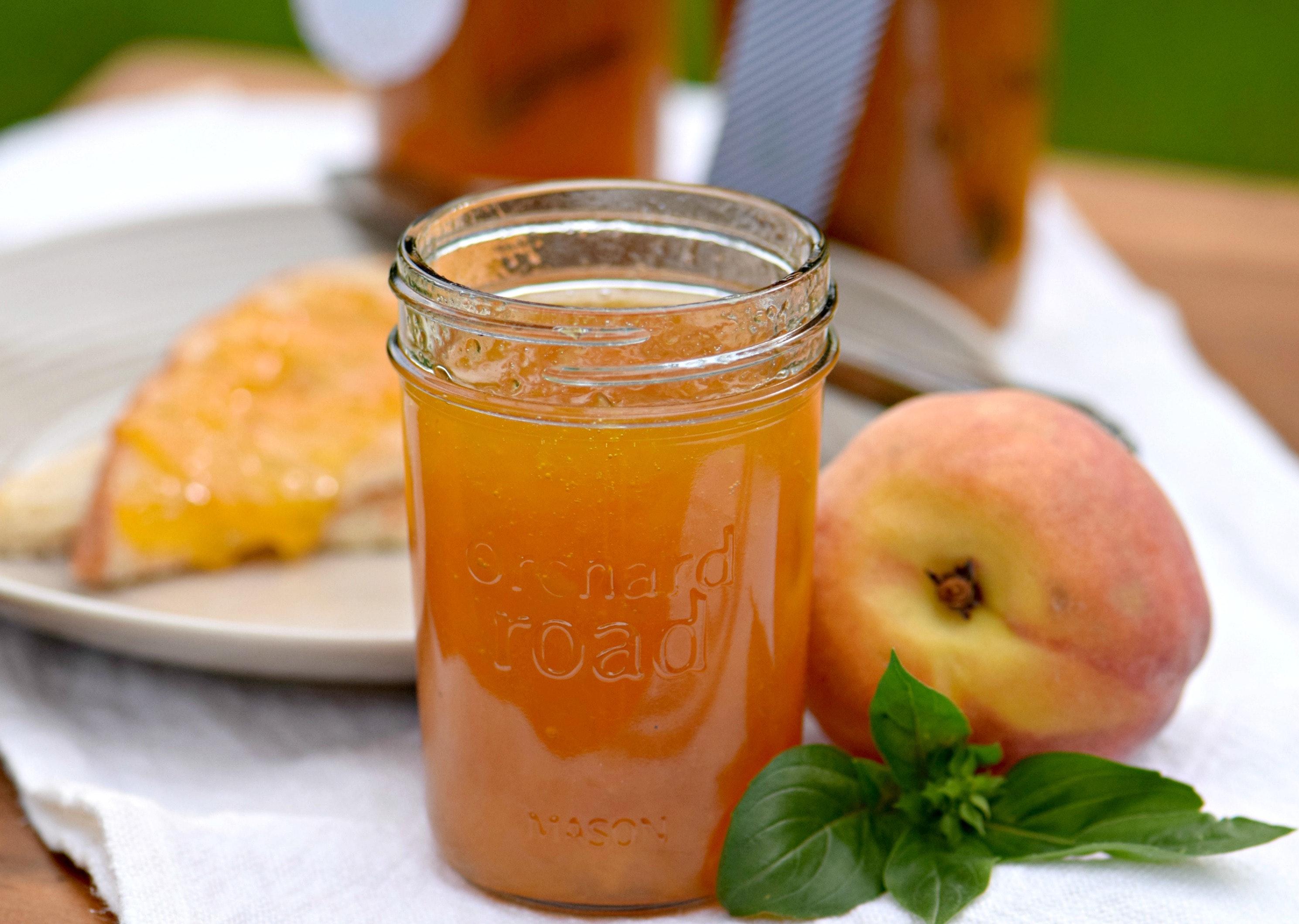 Peaches Jam Extra Jars
