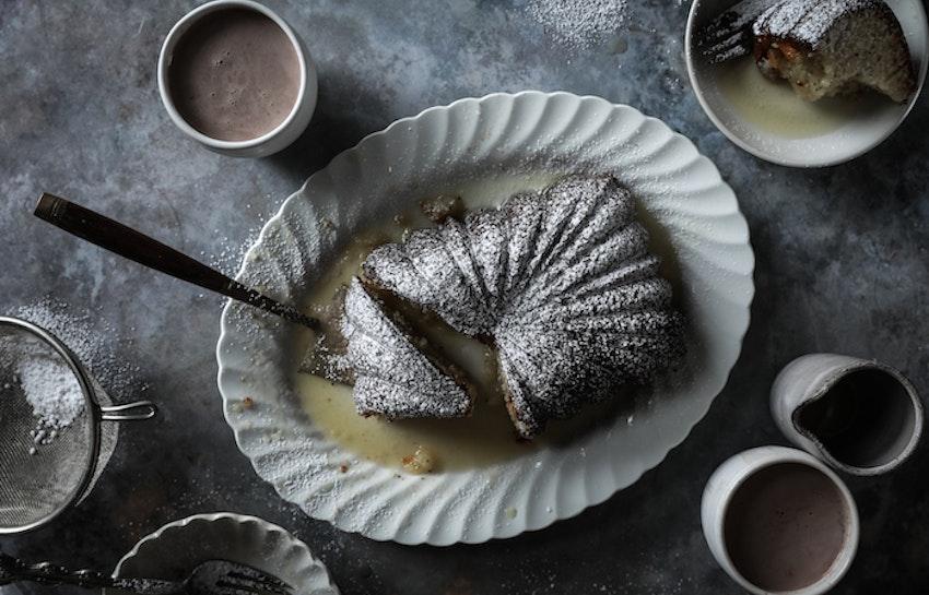 Easy Poppy Seed Cake with Orange Glaze