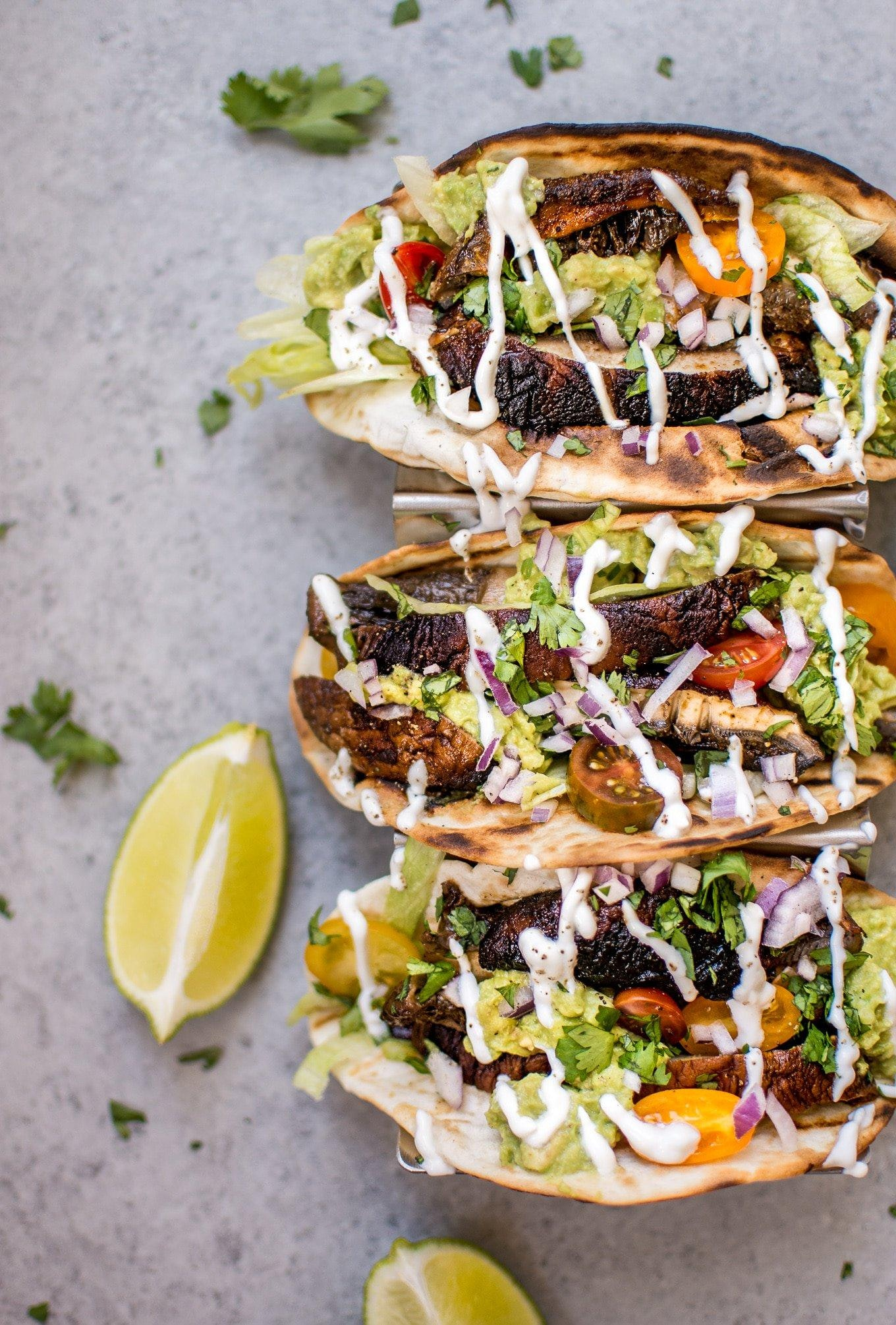 Portobello Mushroom Tacos 8