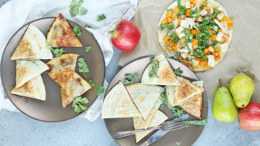 3 Fall Quesadilla Recipes You've Probably Never Tried Before