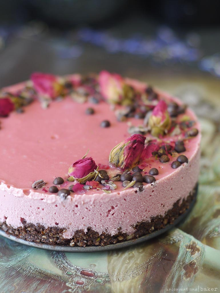 Raw Chocolate Beetroot Cake Recipe Dairy Free Gluten Free Vegan Grain Free Refined Sugar Free