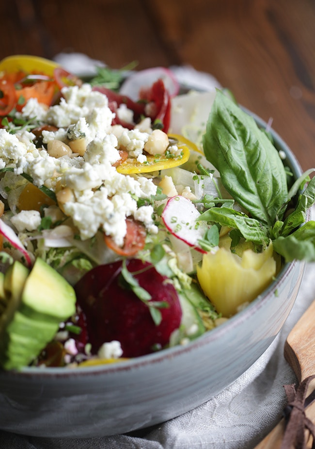 Raw Veg Salad 3