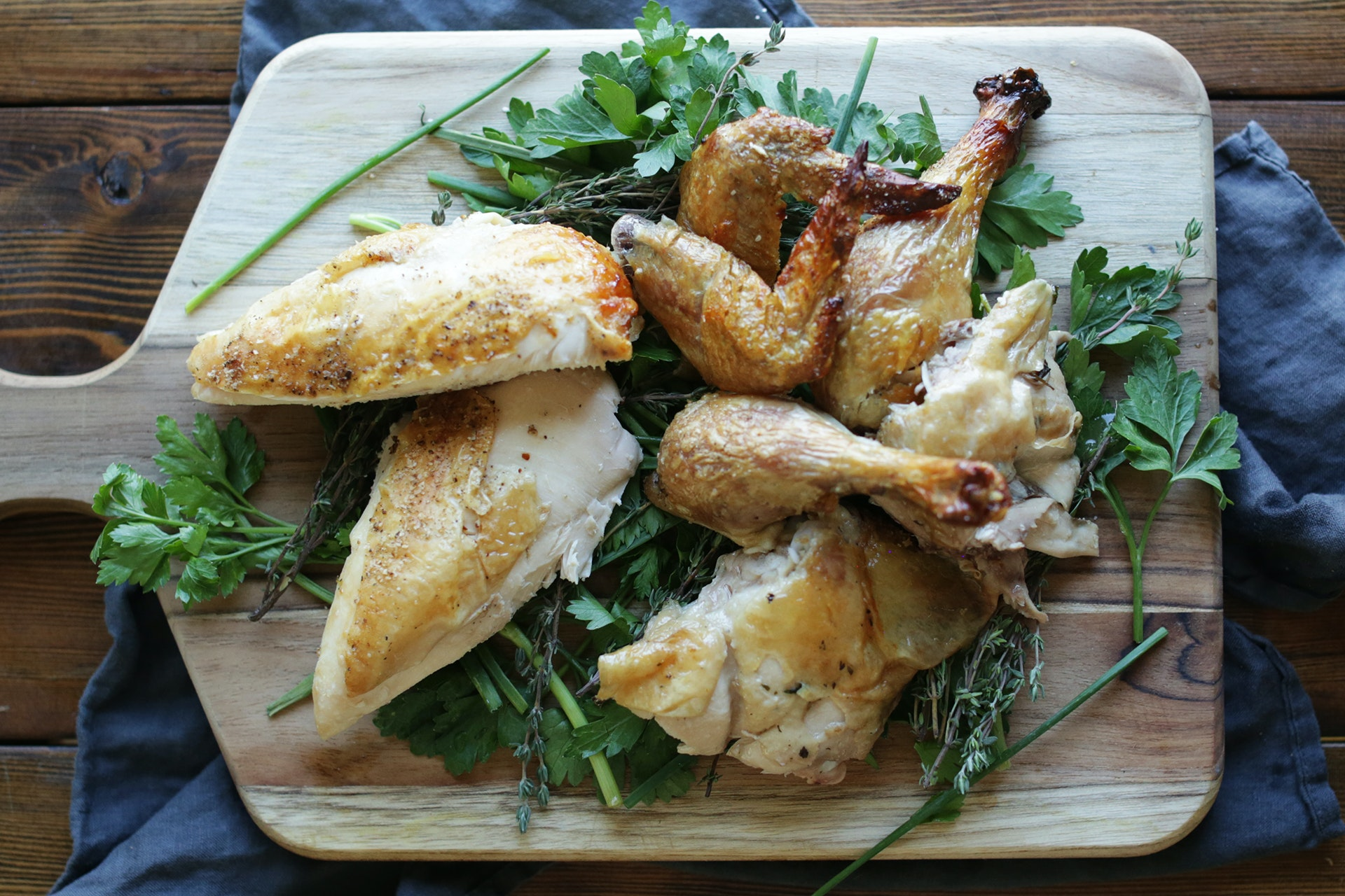 How To: Truss, Roast and Carve a Whole Chicken