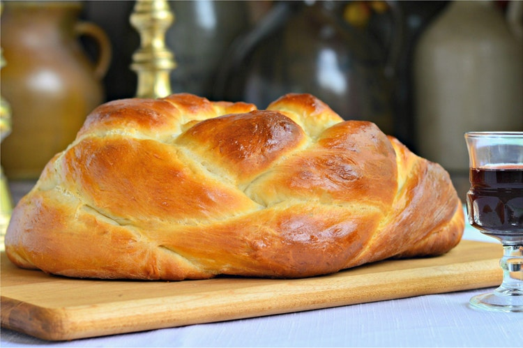 Round Challah for Rosh Hashanah Recipe