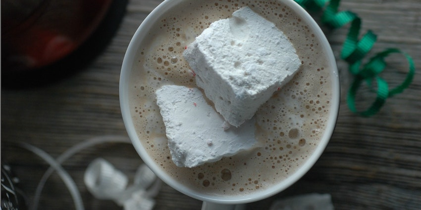 Luxury Hot Chocolate with Rustic Homemade Marshmallows