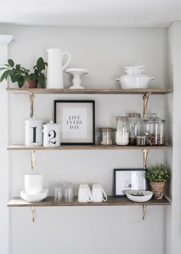 Scandinavian Inspiration Shelving Inspired Home