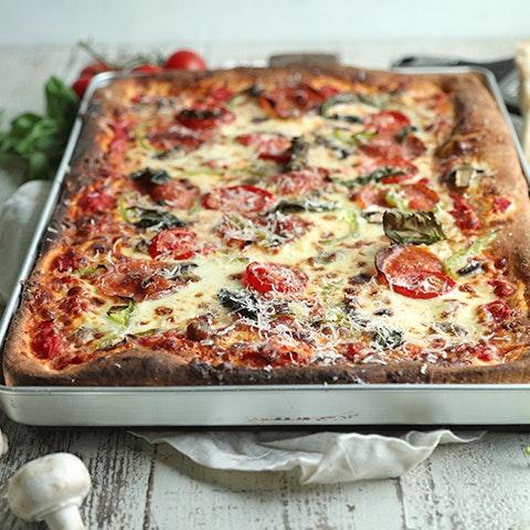 Homemade Sheet Pan Pizza Recipe