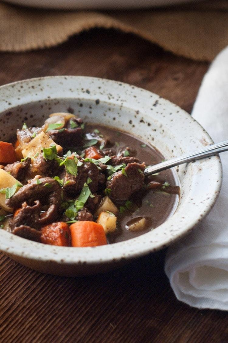 Slow Cooker Guinness Beef Stew Recipe