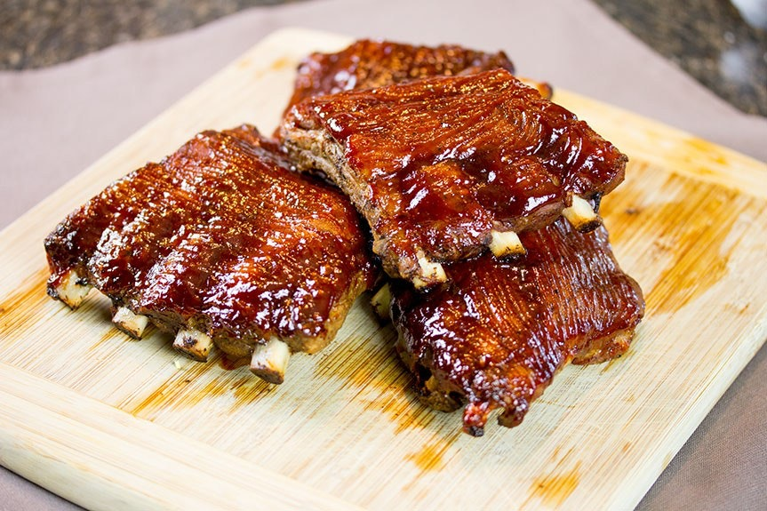 Sous Vide Baby Back Ribs Feature