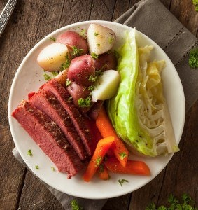 Sous Vide Corned Beef And Cabbage
