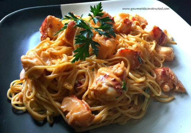Sous Vide Lobster Pasta
