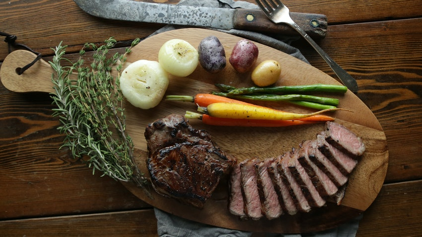 How to Make Sous Vide Steak & Vegetables