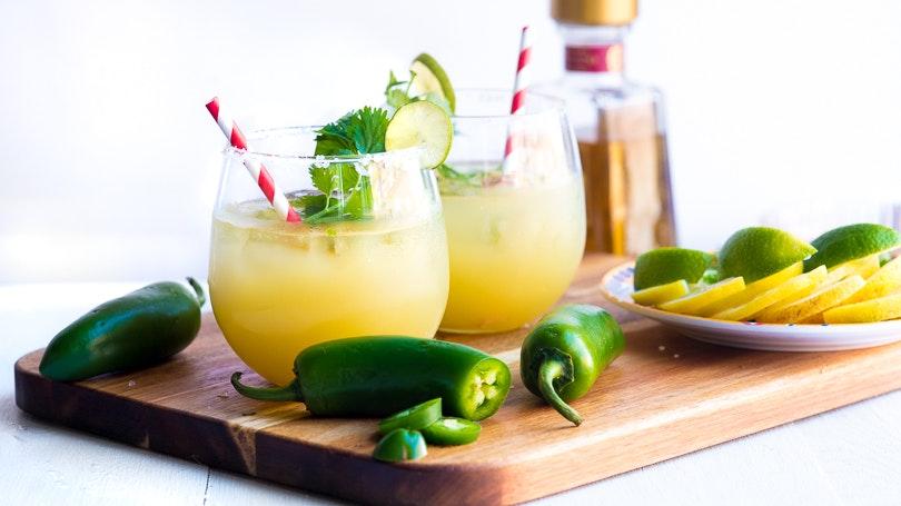 Spicy Pineapple Cilantro Margarita 2