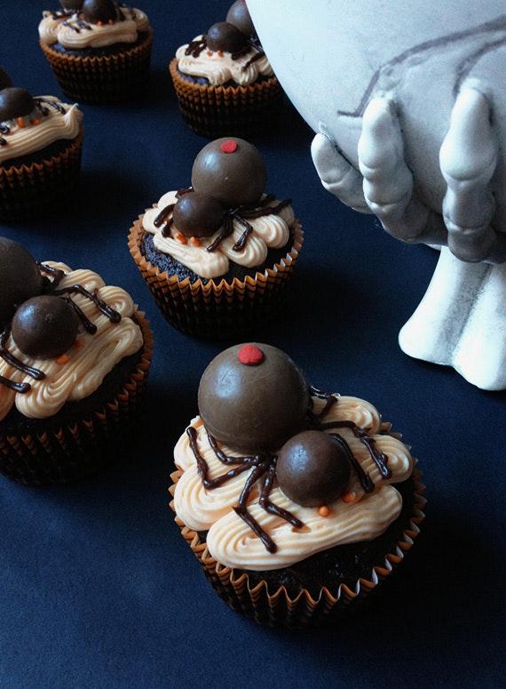 Spider Cupcakes 3
