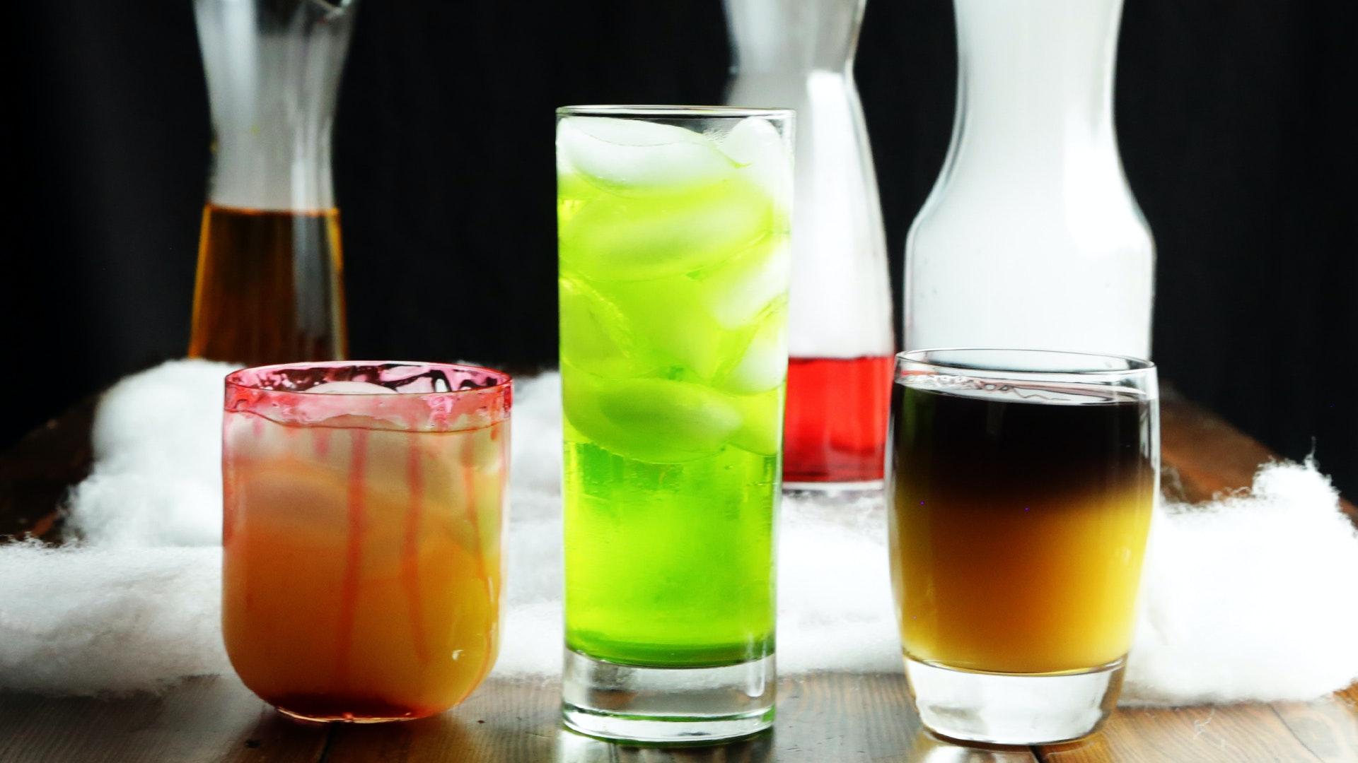 3 Spooky Halloween Drinks