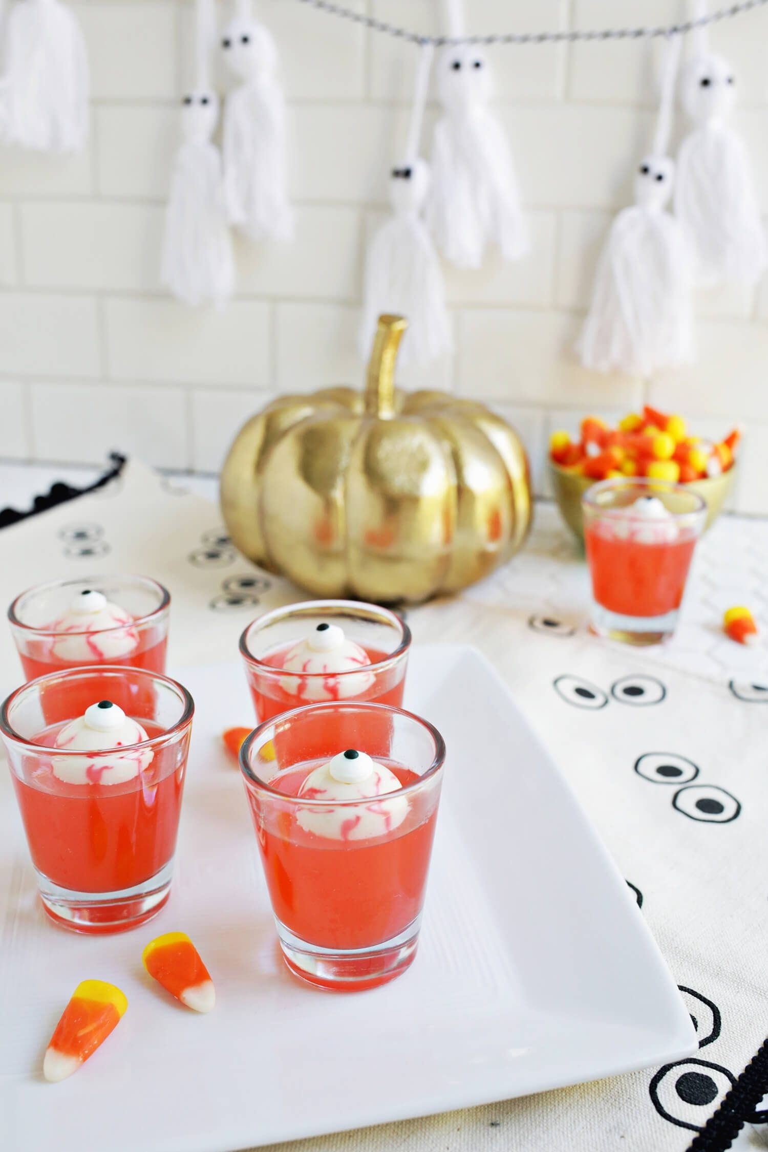 Spooky Eyeball Jello Shots