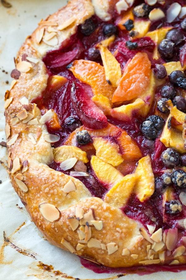 Summer Fruit Crostata Thecozyapron 2
