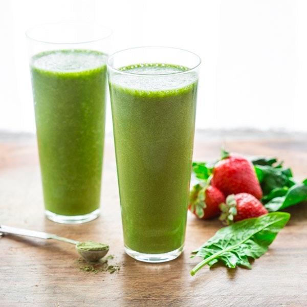 Super Green Tea Antioxidant Smoothie Sq 006
