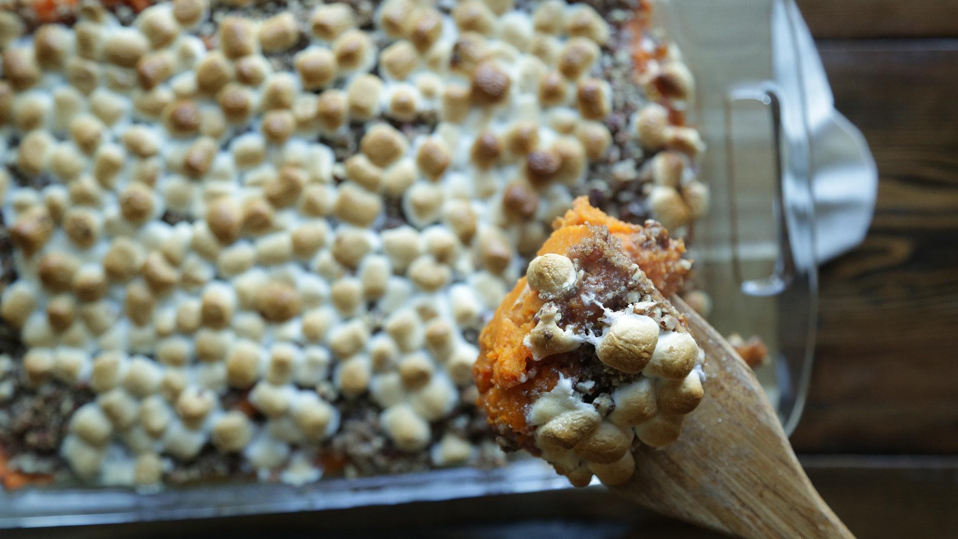 Sweet Potato Casserole Video Still 2
