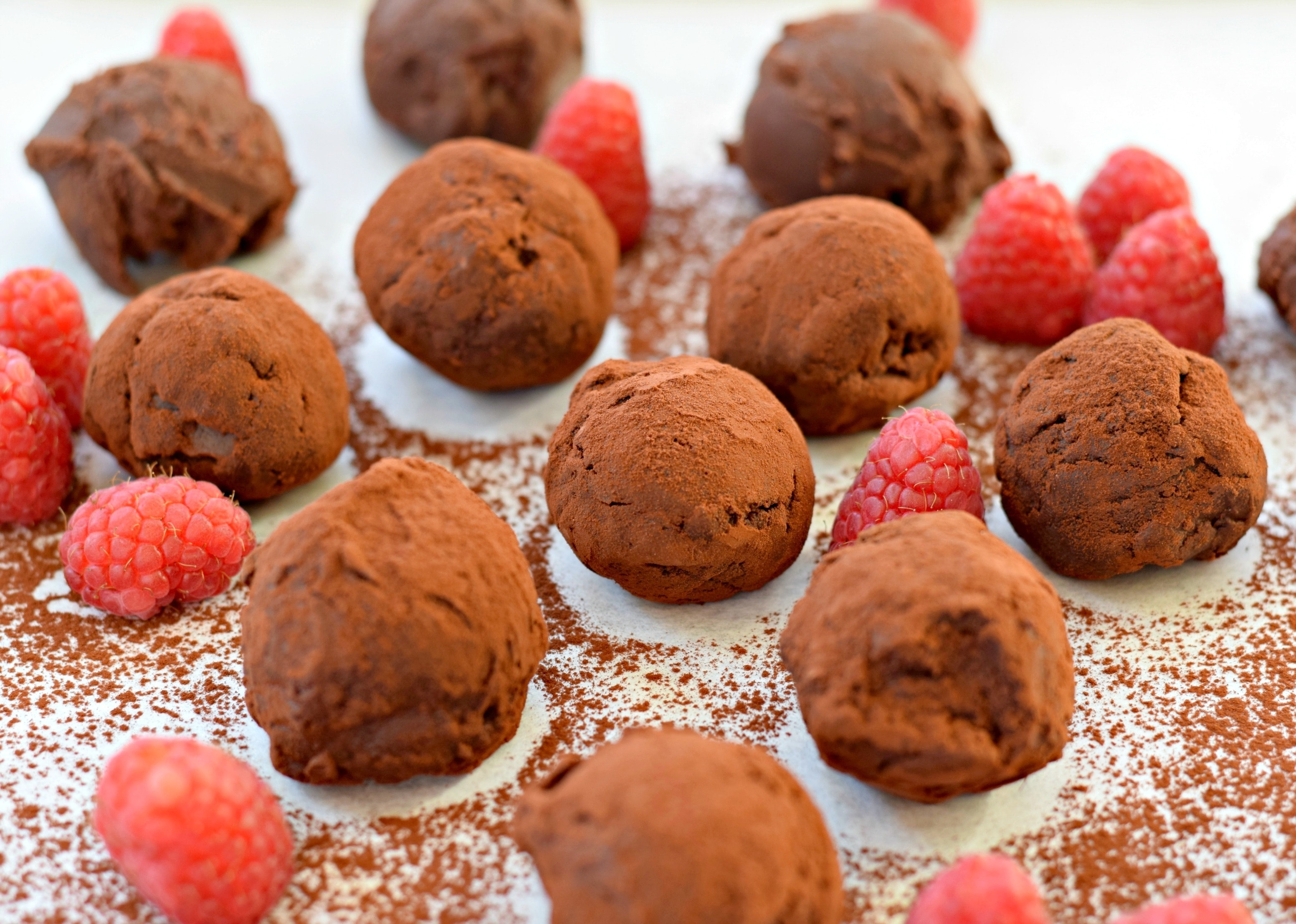 truffles-raspberries
