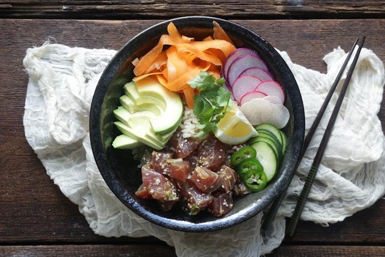 Simply & Tasty Tuna Poké Bowl Recipe